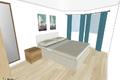 Vorschlag Visualisierung 2. Schlafzimmer - proposta visalizzazione 2a camera da letto