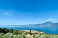 Aussicht von Albisano über den Gardasee