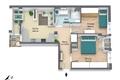 3D Visualieirung Einteilung- und Einrichtungsvorschlag - visualizzazione 3D proposta di suddivisione e arredamento