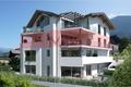 Rendering Südwestansicht Markierung Terrassenwohnung 2.Stock - Propsetto sud-ovest con appartamento al 2° piano evidenziato