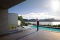 Rendering Aussicht Pool - vista piscina