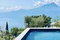 Privater Panoramapool mit Seeblick - piscina privata panoramica con vista Lago